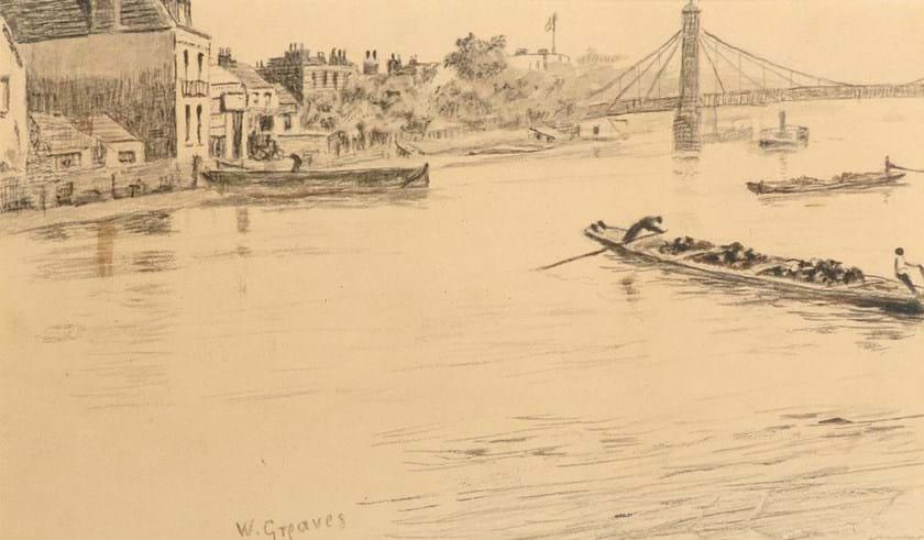 Walter Greaves drawing