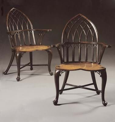 Windsor Chairs Gothic-style