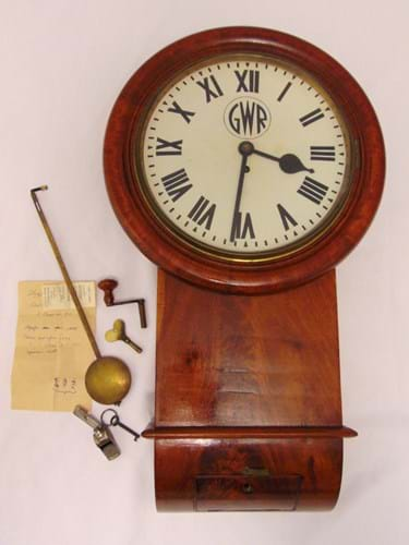 Great Western Railway wall clock