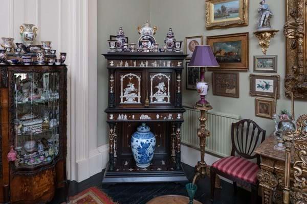 William Mowat-Thomson home in St Bernard's Crescent, Edinburgh