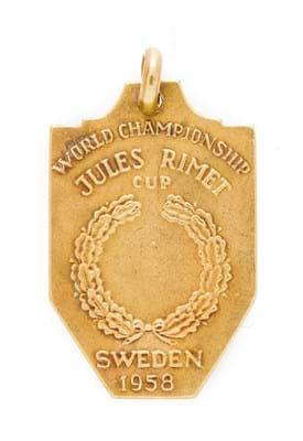 Pelé's 1958 World Cup  medal