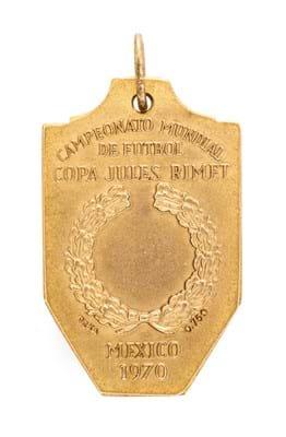 Pelé's 1970 World Cup  medal