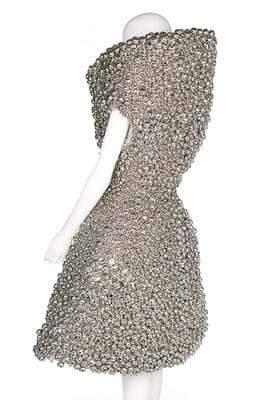 Alexander McQueen Bjork dress