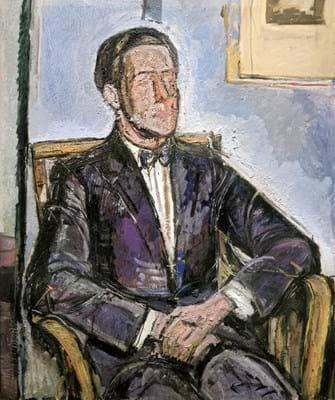 Alberto Giacometti painting