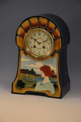 Mantel clock from Hall Bakker