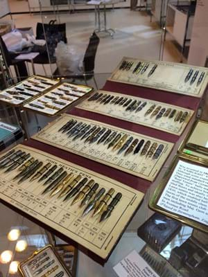 Pens at Antiques for Everyone