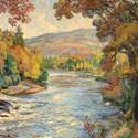 Samuel John Lamorna Birch's River landscape