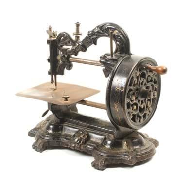 Victorian sewing machine