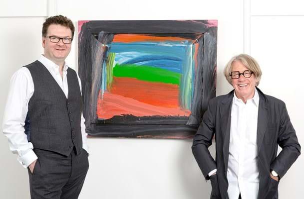Fortnum & Mason CEO Ewan Venters and Frank Cohen