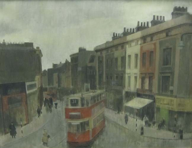 Lawrence Gowing view of Hackney