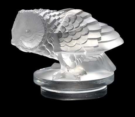 Rene Lalique car mascot Hibou