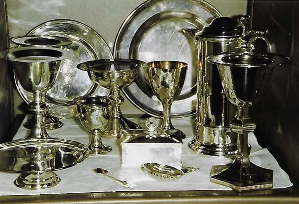 Silver stolen from Blockley Church