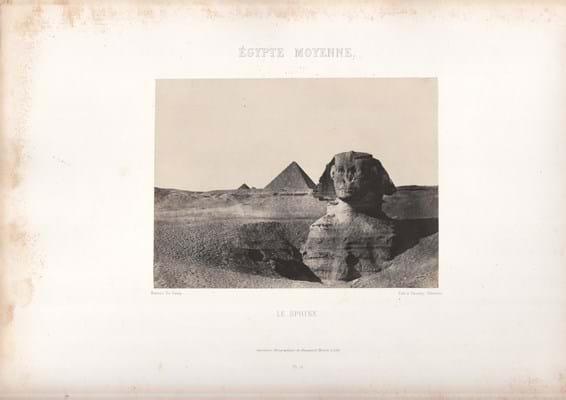 du Camp Sphinx
