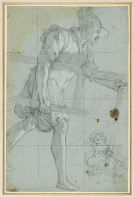 Agostino Ciampelli drawing from Brian Sewell collection