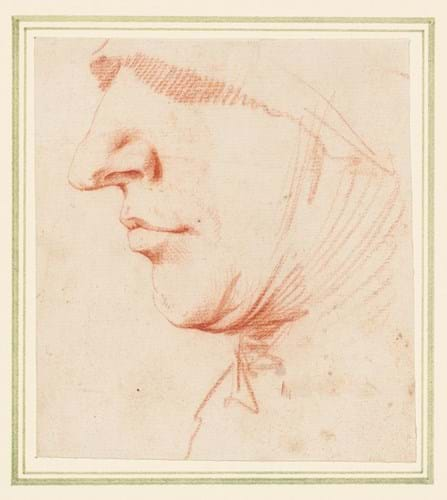 Jusepe de Ribera drawing at Christie's sale of the Brian Sewell collection