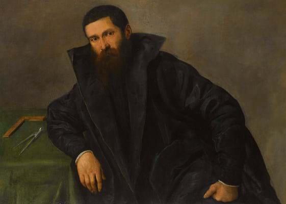 Lorenzo Lotto's Portrait of an architect