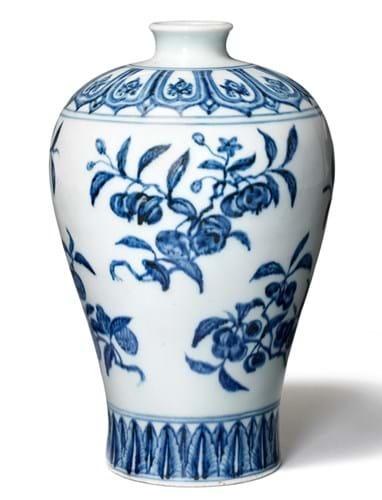 Ming vase Bruun Rasmussen