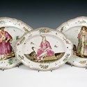 Doccia porcelain dishes
