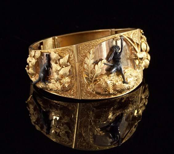 Australian gold rush era bracelet