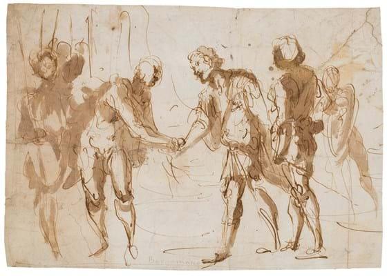 Giovanni Castello drawing