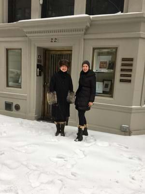 Francesca Galloway and Christine Ramphal
