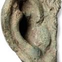 Roman cast bronze ear