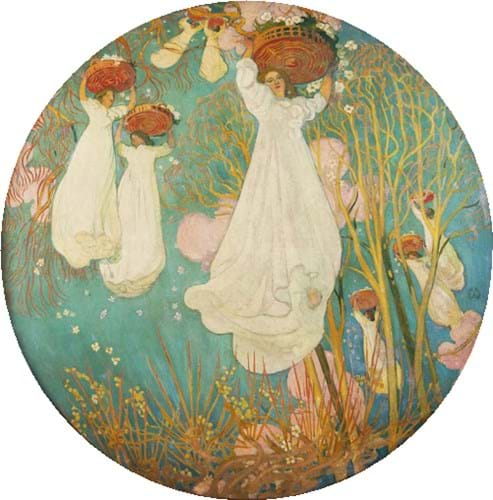April by Maurice Denis